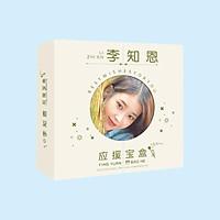 Hộp quà IU viền tròn có poster postcard bookmark banner huy hiệu album ảnh