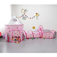 Lều công chúa, lều hoàng tử 3 sản phẩm tạo thành khu vui chơi