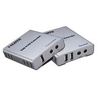 Bộ Kéo Dài Tín Hiệu HDMI Qua Lan RJ45 Hỗ Trợ UHD 4K, KVM Extender 60m