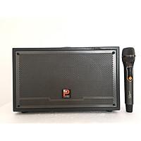 """Loa Xách Tay """"PROSING W-SILVER-E"""" Karaoke di động – Micro UHF - SẢN PHẨM CHÍNH HÃNG"""