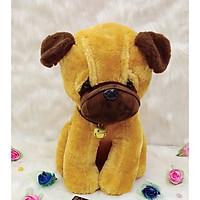 Gấu Bông Chó Mặt Xệ Lục Lạc- Hàng Nhập Khẩu