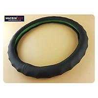 Bọc vô lăng cao cấp HGL21 chất liệu da thật - Khâu tay 100% size M -  nhãn hiệu Macsim mã HGL21