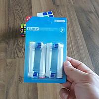 Set đầy đủ nhiều mã Bộ 4 đầu bàn chải đánh răng điện máy Oral B Braun chăm sóc răng miệng toàn diện – MIHOCO OralB Model EB-Hàng chính hãng