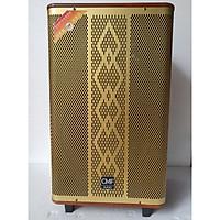Loa kéo di động bass 40, loa kéo 4 tấc kèm 2 micro, hàng chất lượng cao cho âm thanh tuyệt đỉnh