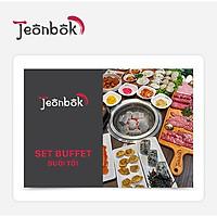 Jeonbok - Set Buffet Tối