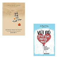 Bộ 2 cuốn sách giúp bạn trút bỏ cảm xúc tiêu cực: Hỏi Đáp Từ Trái Tim - Vứt Bỏ Trái Tim Mong Manh