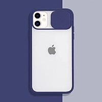 Ốp Điện Thoại Mềm Trong Suốt Chống Sốc Có Nắp Trượt Bảo Vệ Camera Cho Iphone 11 Pro Max Xr Xs Max X
