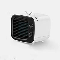 Quạt điều hòa làm mát bằng hơi nước hỗ trợ điều hoà không khí hiệu Baseus Benks Destop Cooler (3 chế độ làm mát, tạo độ ẩm, siêu mát, xoay 90 độ) - Hàng chính hãng