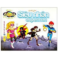 Sticker Khám Phá Thế Giới - Siêu Nhân - Superman