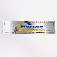 Bảng tên Titan xe Satria