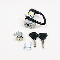 Ổ khóa chống trộm xe Wave RS Nhật 2 dây Green Networks Group