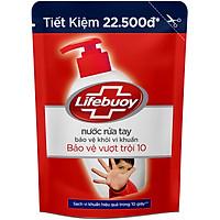 Nước Rửa Tay Diệt Khuẩn Lifebuoy Bảo Vệ Vượt Trội Túi 21126130 (450g)