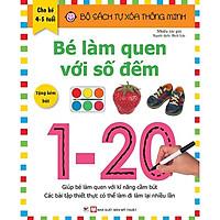 Tự Xóa Thông Minh - Bé Làm Quen Với Số Đếm 4-5 Tuổi