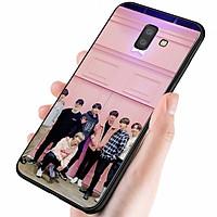 Ốp điện thoại dành cho máy Samsung Galaxy A6 Plus - Tôi Yêu B.T.S MS TYBTS031