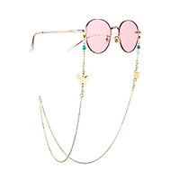 Eyeglasses Chain Women Metal Alloy Pearl Non-slip Glasses Chain