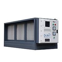 Máy xử lý khí thải nhà bếp, hút lọc khói , lọc dầu mỡ trong khí thải công nghệ lọc tĩnh điện Dr.Air KT12000 - Hàng Chính Hãng