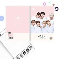 Combo 2 tập kẻ ngang BTS mẫu mới