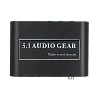Bộ Giải Mã Âm Thanh Kỹ Thuật Số HD Cổng USB Kênh AC3/ DTS 5.1 Audio Gear