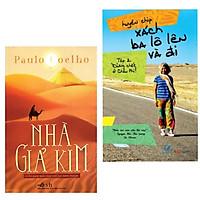 Combo 2 cuốn sách dành cho người thích đi khám phá: Nhà Giả Kim + Xách Ba Lô Lên Và Đi - Tập 2: Đừng Chết Ở Châu Phi!