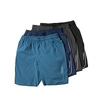 Combo 4 Quần đùi nam thể thao vải gió Quần Short nam mặc mùa hè thoáng mát Micado