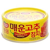 Cá ngừ ớt cay gấp đôi DongWon ck150g - 3513740