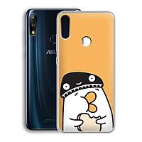 Ốp lưng dẻo cho điện thoại Zenfone Max Pro M2 - 01219 7901 DUCK04 - Hàng Chính Hãng