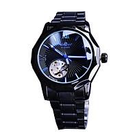 Đồng hồ đeo tay mặt số trong suốt thời trang sang trọng Đồng hồ cơ tự động - Màu trắng