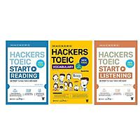 Combo Hacker TOEIC Bứt Phá Điểm Số: Hackers TOEIC Vocabulary + Hackers TOEIC Start Reading + Hackers TOEIC Start Listening