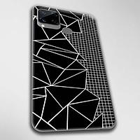 Ốp lưng dành cho Realme C11, Realme C12, Realme C15, Realme C17 mẫu Mảnh vỡ đen