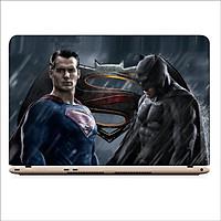 Miếng Dán Skin In Decal Dành Cho Laptop - Super Man vs Batman 3