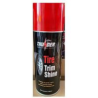 Chai phục hồi nhựa nhám và vỏ xe THUNDER TIRE&TRIM SHINE