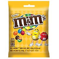 [Chỉ Giao HCM] - Big C - Socola M&M đậu phộng gói 100g - 01311