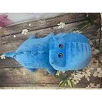 Thú bông cá sấu xanh dương 90cm
