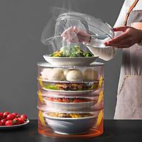 Lồng bàn đậy thức ăn thông minh GS115, 5 Tầng, chất liệu nhựa PP cao cấp