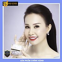 """Kem Face """"LƯỜI"""" Thượng Hạng (White Plus) Chính Hãng Queenie Skin Với Tinh Chất Nhân Sâm Và Nhụy Hoa Nghệ Tây Cao Cấp Giúp Dưỡng Trắng & Makeup Hiệu Quả (35g)"""