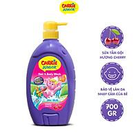 Sữa Tắm Gội cho bé Carrie Junior hương Cherry 700g