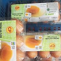 Trứng gà CP size L54-60gr - Hộp 10 Quả