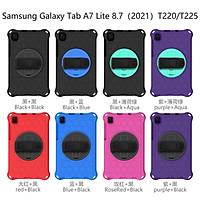 Ốp Lưng Chống Sốc Có Dây Đeo Vai Cho Samsung Galaxy Tab A 8 8.4 Inch 2020 Sm-T307 T307U