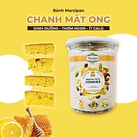 Bánh ăn kiêng Marzipan không đường hỗn hợp hạt dinh dưỡng VỊ RAU CỦ QUẢ TƯƠI Việt Nam - Biscotti Cao cấp