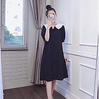 Váy bầu thiết kế đẹp sang chảnh chất mát mịn