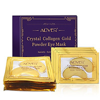 10 Pairs Moisturizing Gold Crystal Collagen Eye Mask Professional Anti-Aging Remove Wrinkle Eye Patches Eye Care Tool