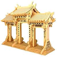Mô hình lắp ghép 3D bằng gỗ Cổng Vòm Archway