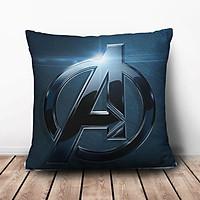 Gối Ôm Vuông Logo Avengers GVFF136 (36 x 36 cm)