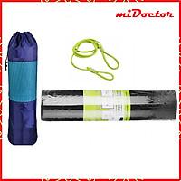 Thảm Tập YoGa Dày 8mm miDoctor + Bao Thảm Tập Yoga + Dây Thảm Tập Yoga (Túi, Dây Giao Màu Ngẫu Nhiên)