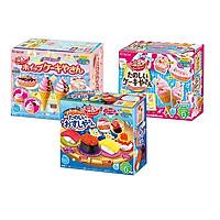 Combo 3 hộp kẹo sáng tạo popin cookin đồ chơi ăn được : sushi + cơm bento + làm kem
