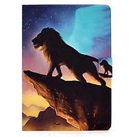 Bao Da In Hình Sư Tử Cá Tính Cho Samsung Galaxy Tab S6 Lite 10.4 Inch Sm-P610 P615