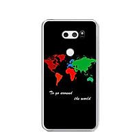 Ốp lưng dẻo cho điện thoại LG V30 - 0486 World - Hàng Chính Hãng