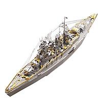 Mô hình thép 3D tự ráp tàu chiến Nagato Battleship
