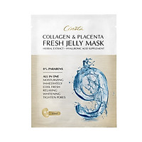 Mặt nạ thạch tươi Cenota Collagen Placenta Fresh Jelly Mask