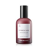 Sữa dưỡng da chống lão hoá Thank You Farmer Miracle Age Repair Emulsion 130ml